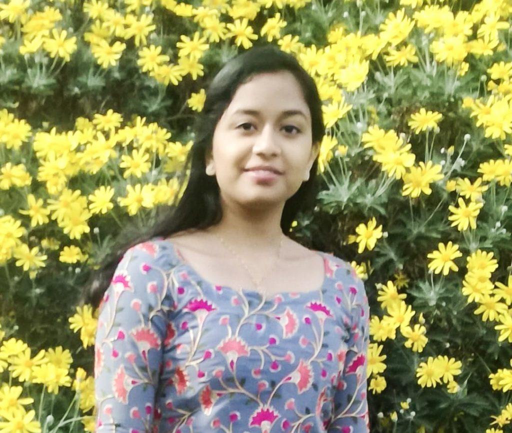 English Language Tutor, Ann Maria Sabu